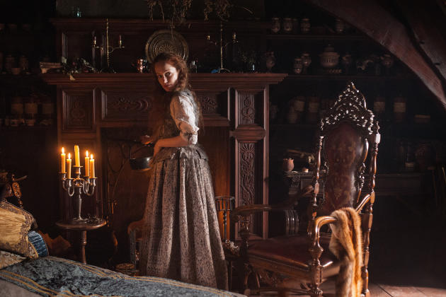 Helping Claire - Outlander Season 1 Episode 3