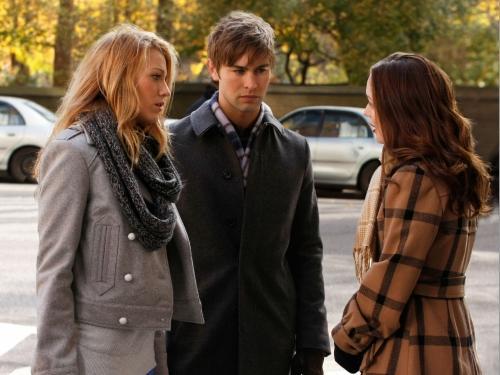 Nate, Serena, Blair