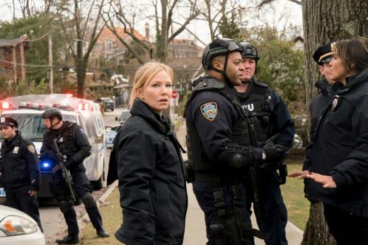 A Tense Standoff - Law & Order: SVU Season 19 Episode 19