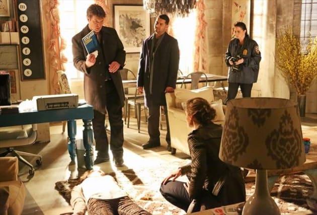 On the Castle Crime Scene