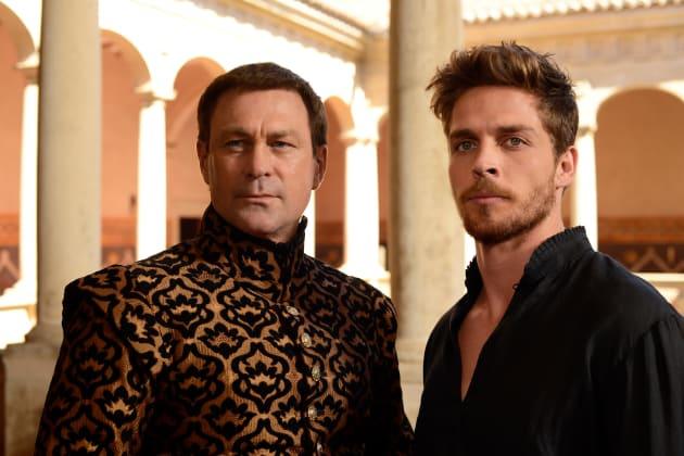 Lord Montague and Benvolio - Still Star-Crossed Season 1 Episode 2