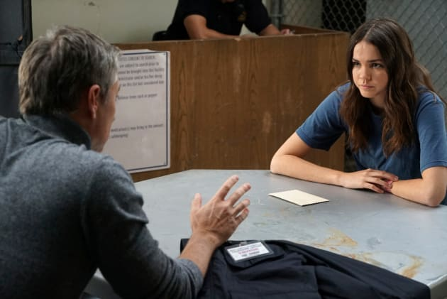 Daddy Daughter Time - Cruel and Unusual - The Fosters Season 4 Episode 13