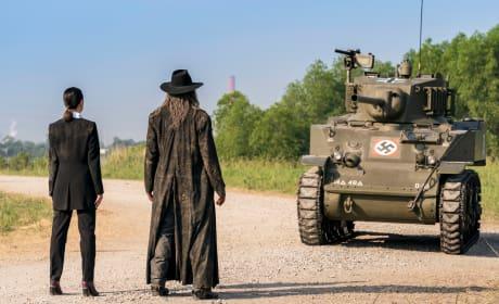 The Saint & Nazis - Preacher Season 3 Episode 10