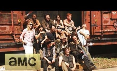 The Walking Dead Season 5 Set Visit