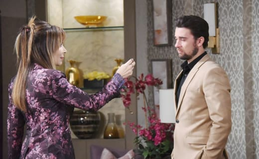 Kate Manipulates Chad - Days of Our Lives