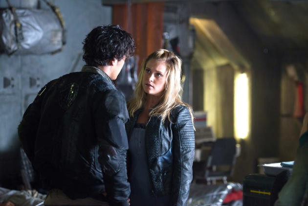 The 100 clarke and bellamy season 1 : Apparitional film