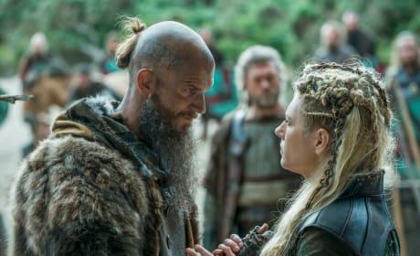 Floki and Lagertha - Vikings Season 5 Episode 6