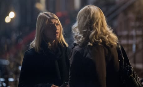 Clarice Brings Carrie a Message - Homeland