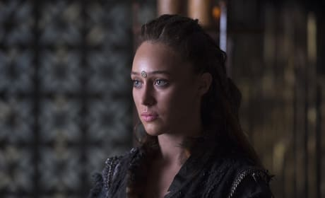 Still Calm Lexa - The 100 Season 3 Episode 3