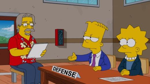 Lisa Helps Defends Bart