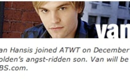 Van Hansis Updates His Blog