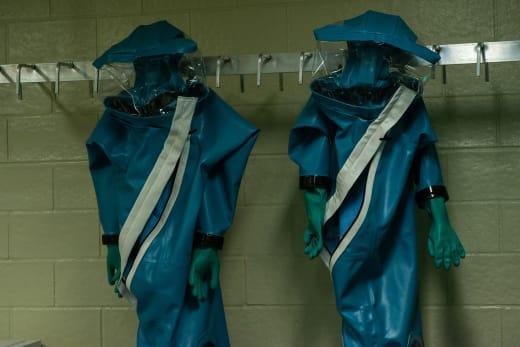HAZMAT Suits on The Hot Zone