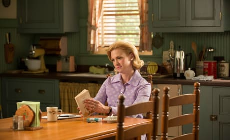Betty at Home - Mad Men Season 7 Episode 12