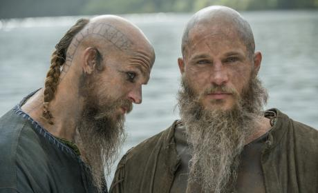 Ragnar and Floki - Vikings Season 2 Episode 11