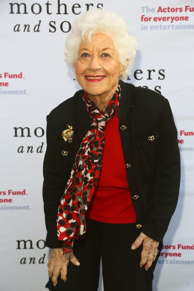 Charlotte Rae Attends Event