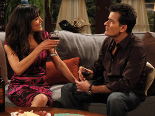 two and a half men review twanging your magic clanger tv fanatic 10 25 10 two and a half men