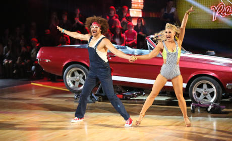 Redfoo and Emma - Dancing With the Stars Season 20 Episode 2