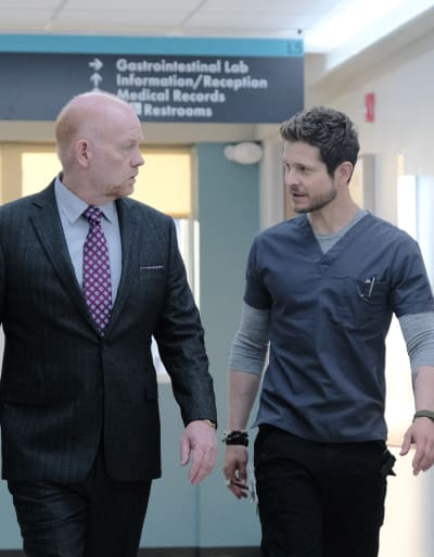 Dad's Back - Tall - The Resident Season 3 Episode 6