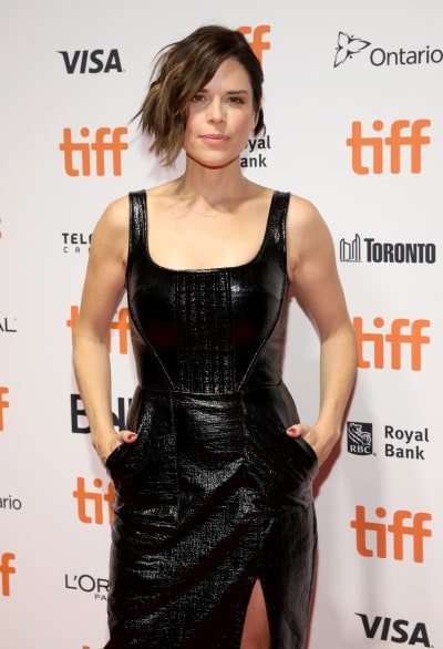 Neve Campbell Attends TIFF