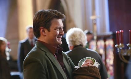 Castle Photo Preview: Bringing Up Baby
