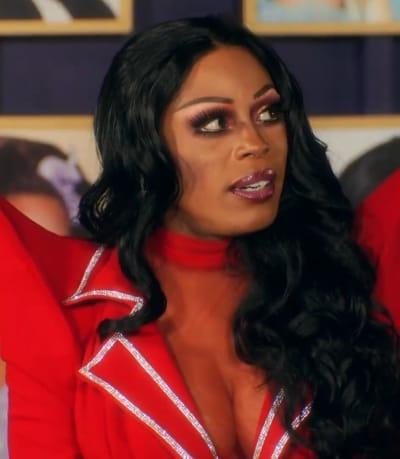 Tamisha Iman Shoulder Pads - RuPaul's Drag Race Season 13 Episode 1