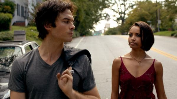 Damon and bonnie the vampire diaries