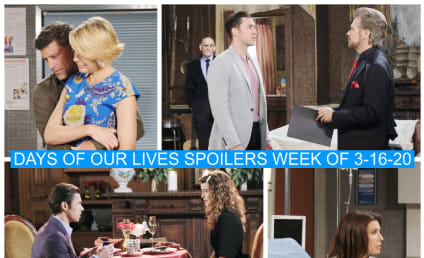 Days of Our Lives Spoilers Week of 3-16-20: Victor's Plan Unravels