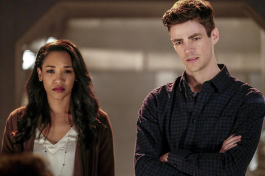 Engagement interrupted?  - The Flash Season 3 Episode 15