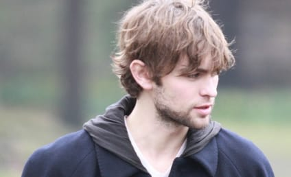 Chace Crawford Films (a Movie) in Central Park