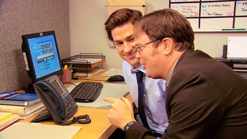 Jim & Dwight on The Office