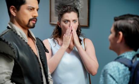 Rebecca in Shock - Crazy Ex-Girlfriend Season 4 Episode 4