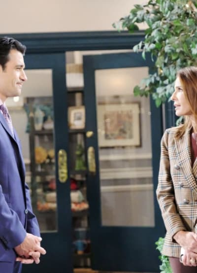 Fighting Their Feelings - Days of Our Lives