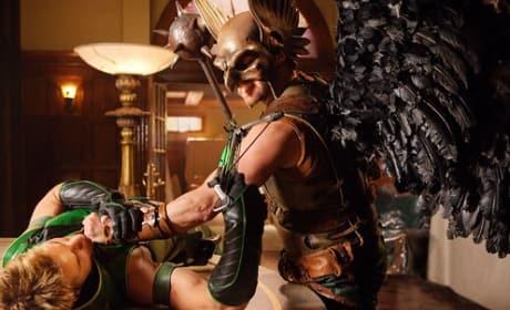 Green Arrow vs. Hawkman