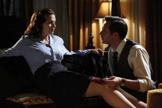 Peggy and Jarvis - Marvel's Agent Carter