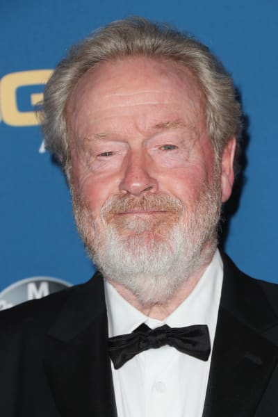 Ridley Scott Attends Awards Ceremony