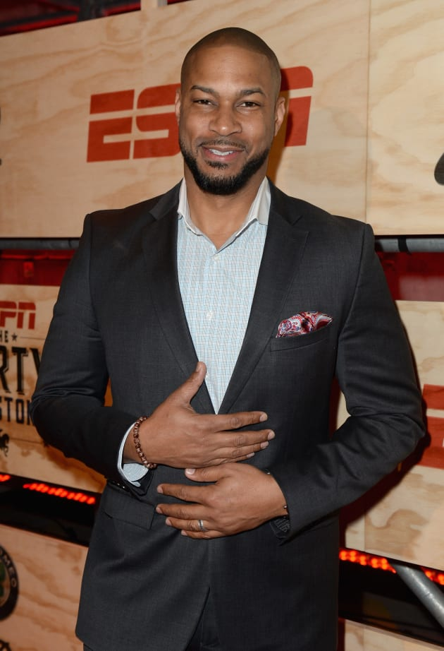 Finesse Mitchell Attends Event