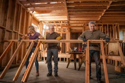 Renovating Mike's Den/Offfice