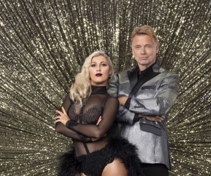 Emma Slater and John Schneider - Dancing With the Stars