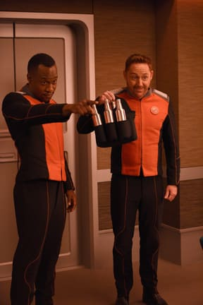 The Bros with Booze - The Orville Season 1 Episode 3