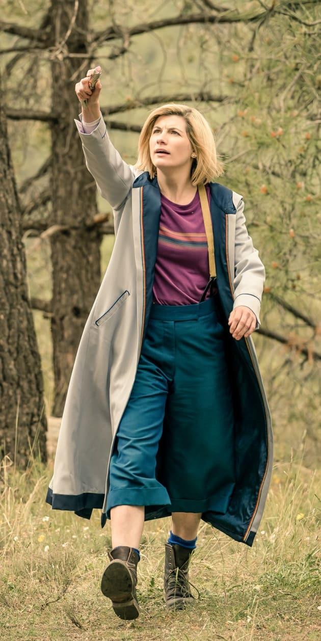 Vertical Doctor Scan - Doctor Who Season 11 Episode 6