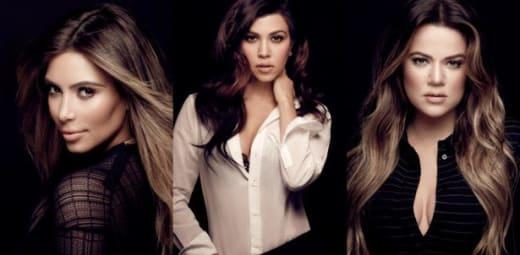 Trio of Kardashians