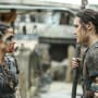 Octavia and Ilian — The 100 Season 4 Episode 10
