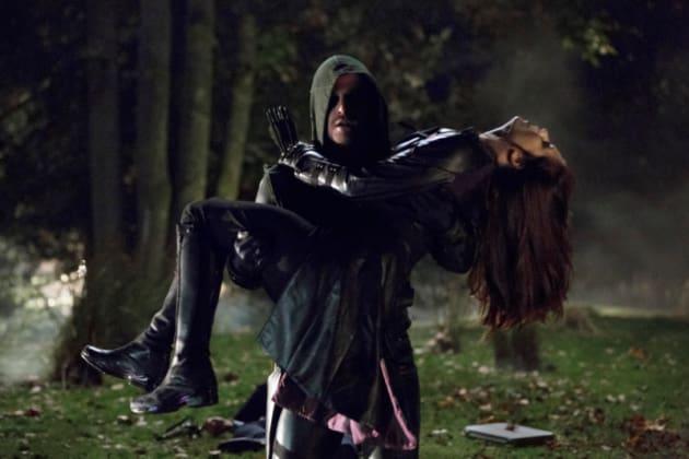 Arrow and the Huntress