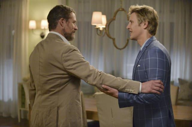 Nolan Looks Relieved - Revenge Season 4 Episode 6