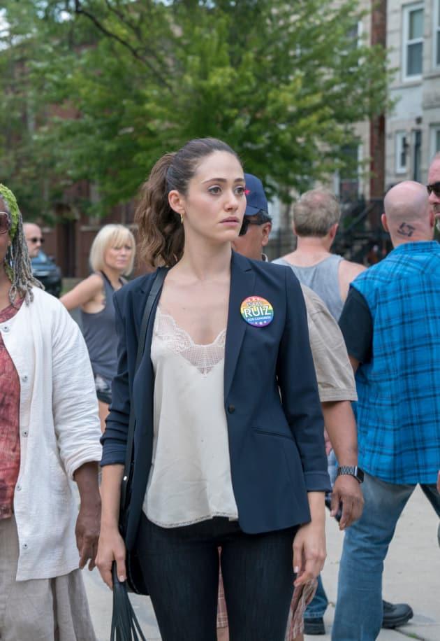 Fiona Votes for Ruiz - Shameless Season 9 Episode 4