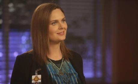 Brennan Smiles - Bones Season 10 Episode 22