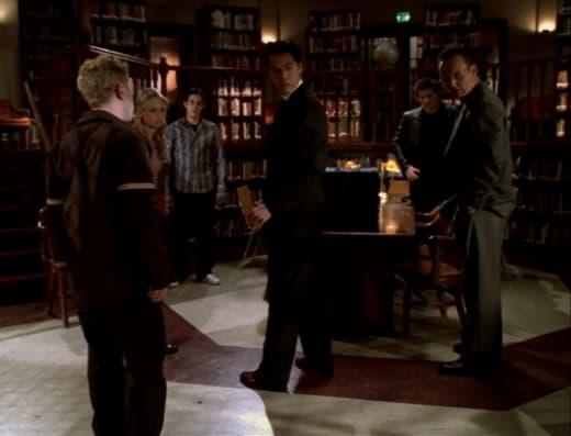 Oz Breaks The Tension - Buffy the Vampire Slayer Season 3 Episode 19