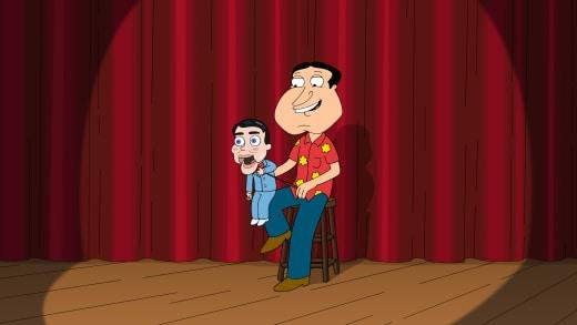 Ventriloquist Quagmire - Family Guy Season 16 Episode 19