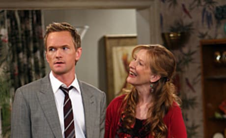Barney and Mom