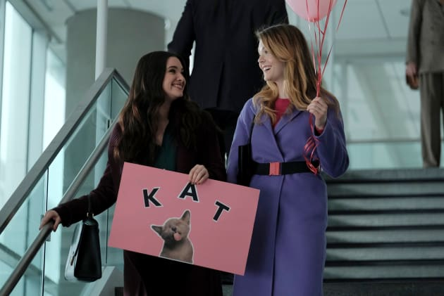 Jane and Sutton Await Kat  - The Bold Type